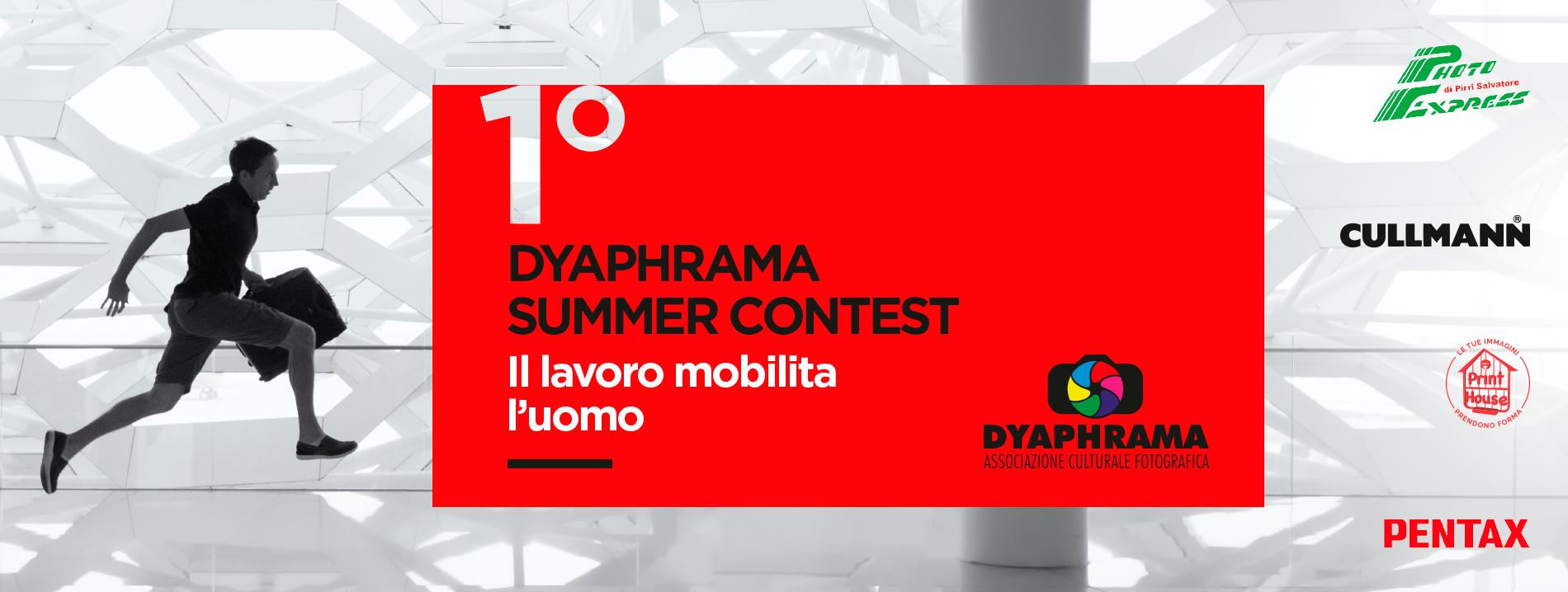 """Prende il via il 1° contest targato Dyaphrama """"Il lavoro mobilita l'uomo"""""""
